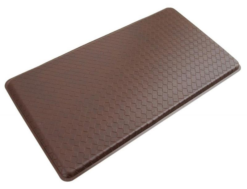Anti Fatigue Floor Mat Cushioned Gel Kitchen Mat 20 X 36 Inch Truffle Brown New Ebay