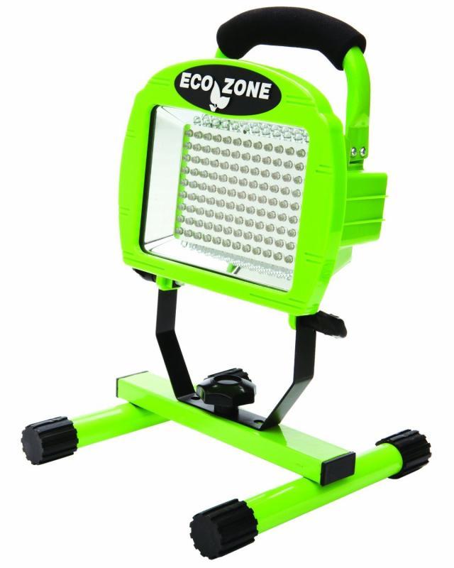 Designers Edge Double Bulb Halogen Portable Work Light: Portable Work Light LED Workshop Lighting 108 Lights