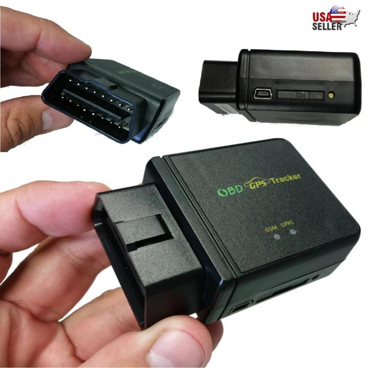 obd ii gps tracker realtime car truck vehicle tracking gsm