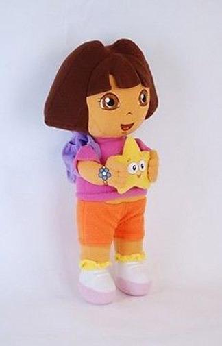 "13"" Dora The Explorer Kids Girl Soft Cuddly Stuffed Plush Toy Doll"
