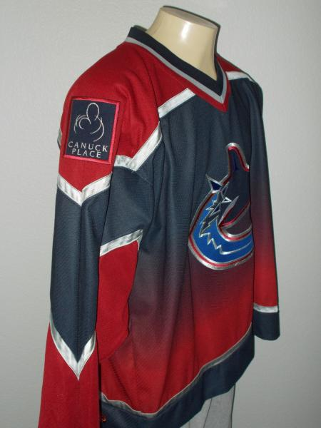 KOHO SEWN VANCOUVER CANUCKS ALTERNATE TEAM NHL HOCKEY JERSEY MEN 2XL ... 1c8d38750