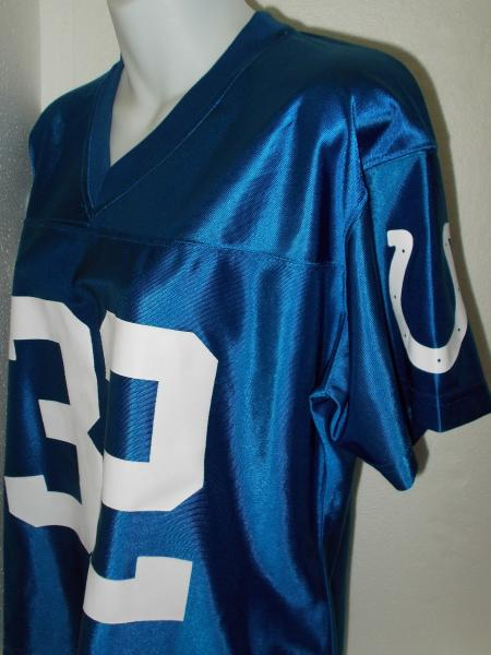 4e9085f4f EDGERRIN JAMES  32 INDIANAPOLIS COLTS BLUE NFL FOOTBALL JERSEY ...