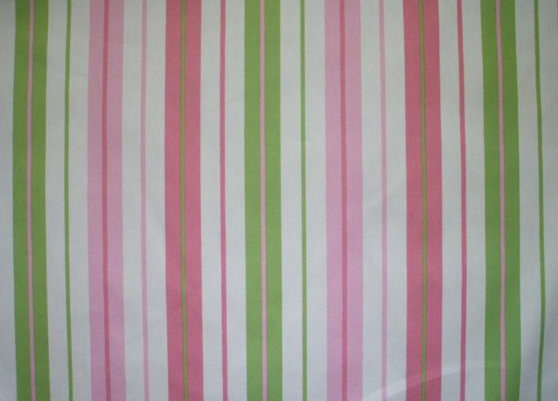 new 72 penny stripe watermelon pink lime green fabric shower curtain cotton ebay. Black Bedroom Furniture Sets. Home Design Ideas