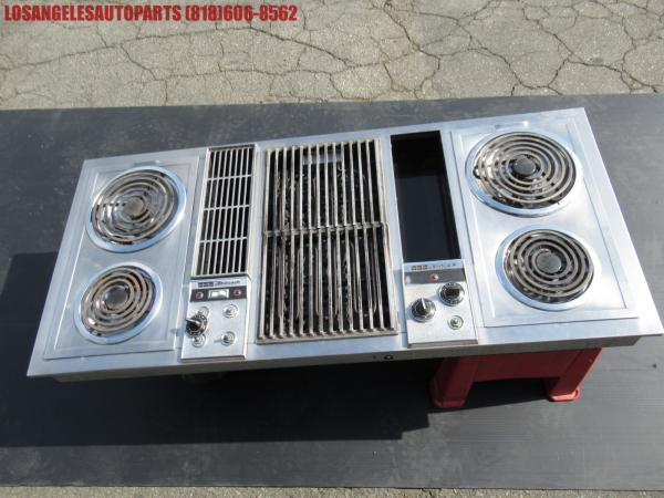 Details about VINTAGE JENN-AIR ELECTRIC STOVE-TOP DOWNDRAFT BLOWER 5 RANGE  STAINLESS-STEEL 47