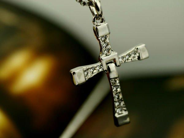 dominic toretto s cross pendant steel necklace fast and