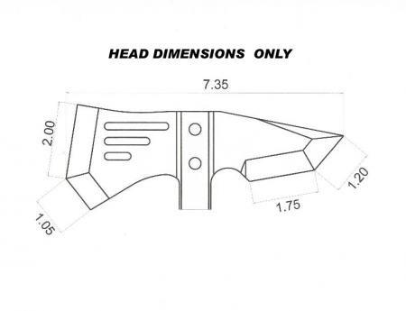 Tops IDT Crash Axe - Individual Demolition Tool - Top Knives - IDT ...