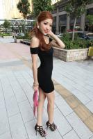 New Korean Sexy Women Slim Evening Party Cocktail Club Mini Dress 2