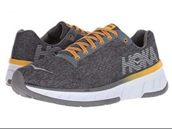 new style 86946 cc79a Details about HOKA ONE ONE Cavu Alloy/Nine Iron Men's- Running Shoes Sz us  10-D