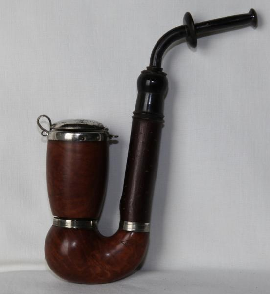 PIP 1337 01 - J. S N   4-Parts OOM PAUL (pre-WWII) **EXCELLENT CONDITION**V.RARE** Estate Pipe