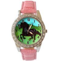 10 colors Hot sale Popular Fashion Boy Girls Gifts Leather Quartz Wristwatch U91