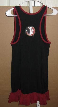 5e3d7a297b ES FSU tank jersey dress M womens Florida State Seminoles sequins ...
