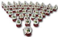 Ganz Snowman Snowglobe Ornament Personalized JEAN New With Tags