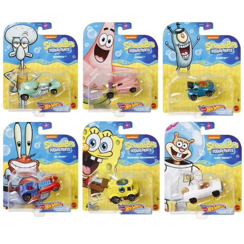 Disney Series 5 Hot Wheels Character Cars 1:64 Scale Complete 2018 Set of 6