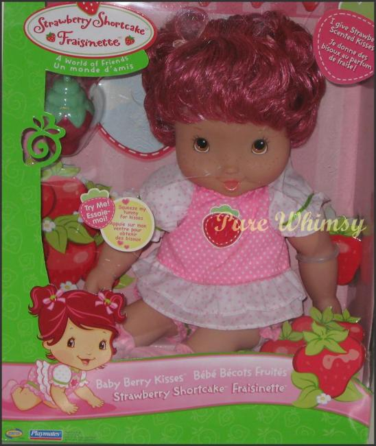 Baby Berry Kisses Doll 2007 Blow Kiss RARE No Giggle Doll