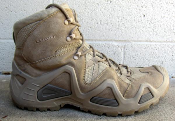 Lowa Zephyr Mid Desert Hiking Combat Boots Coyote Men's Size 13 ...