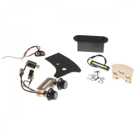 SET Electric Violin Bridge Pickup Preamp For 4 4 Violin eBay