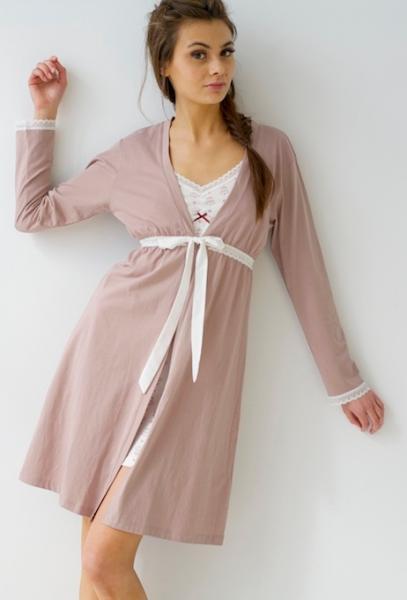 New Belabumbum Maternity Nursing Queen Bee Robe Pajamas