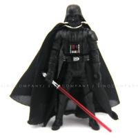 "Star Wars 2005 Darth Vader Revenge Of The Sith ROTS 3.75/"" Figure /& lightsaber"