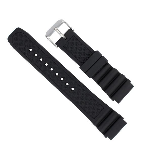 Italian Bands: Italian Rubber Watch Band For Luminox 22mm 3100/3200