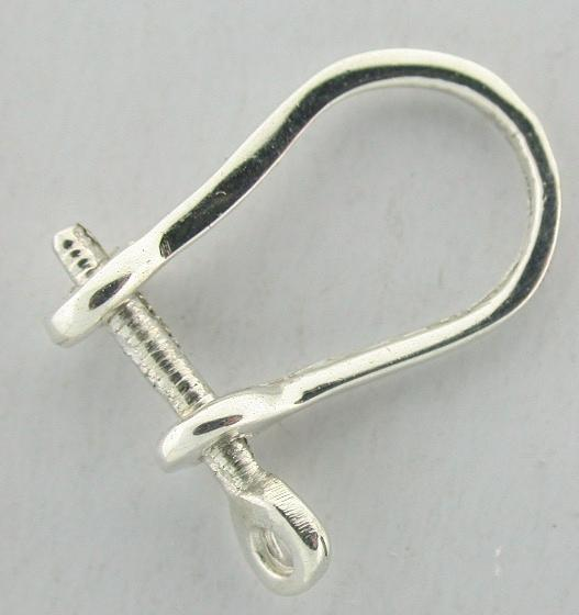 shackle earrings silver shackle earring sshak ebay 5332