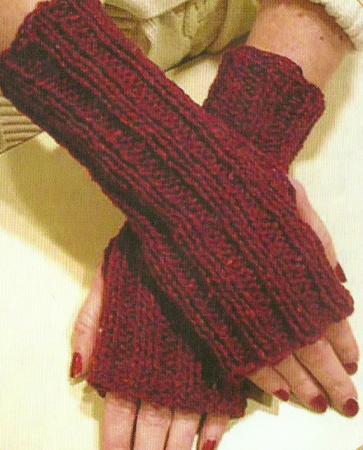 Stefanina Knitting Design: Baikka fingerless mittens : knitting