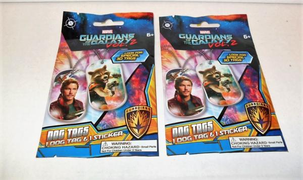 MARVEL GUARDIANS OF THE GALAXY VOL.2 DOG TAGS BOX OF 24 PACKS