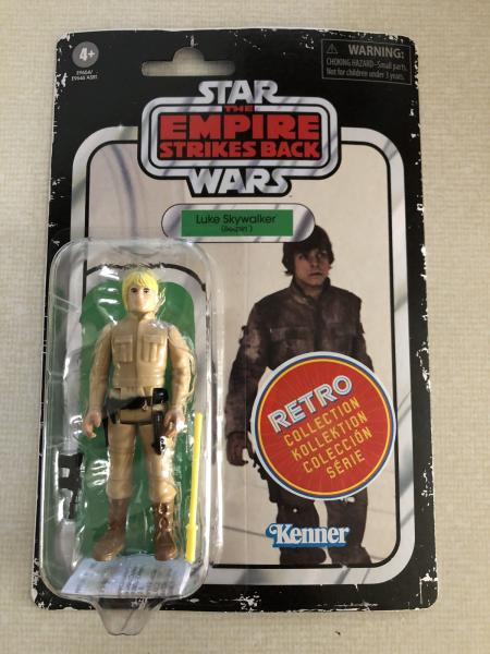 Star Wars Retro Collection Empire Strikes Back LOT OF 4 Figures SEALED new!!!