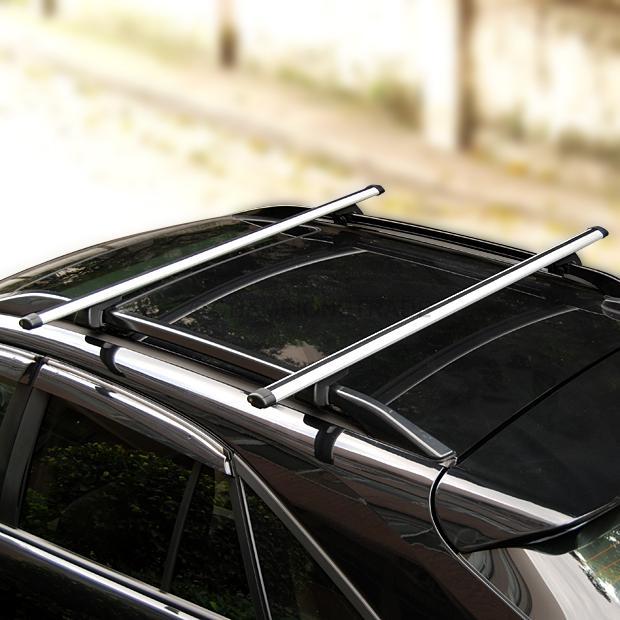 Usa 55 Quot Aluminum Adjustable Top Roof Cross Bar Rail Luggage