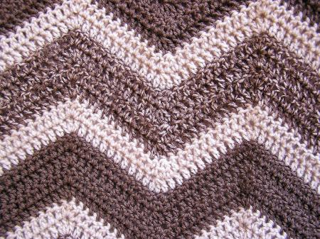 Crochet Lap Blanket : Crochet Handmade Afghan Blanket Lap Robe Wheelchair Baby Ripple 36 x