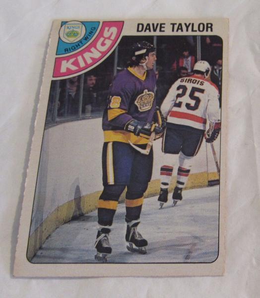 1978-79 Dave Taylor #353 OPC O-Pee-Chee Rookie Hockey Card