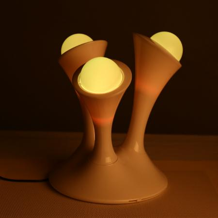 Boon Glo Style Color Changing Night Light Movable Glowing Ball Kids Bedside Lamp Ebay
