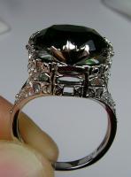 14k WG White Gold .84ct tw Round Diamond Engagement & Wedding Ring Set