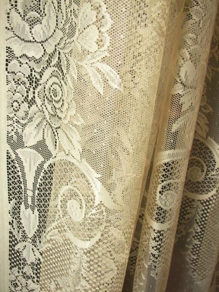 Vintage Victorian Neo Classical French Country Net Floral