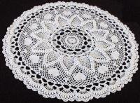 ROMANTIC HEART DOILY (FULL VIEW)