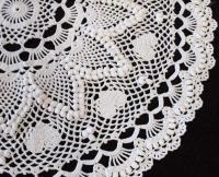 ROMANTIC HEART DOILY (CLOSE-UP)