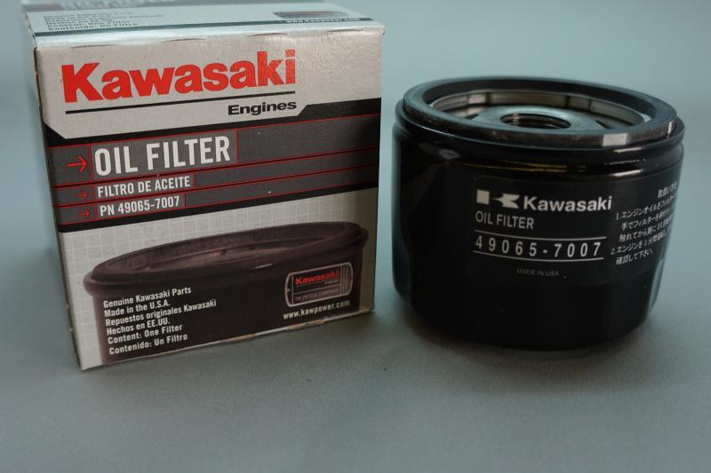 genuine oem kawasaki 49065-7007 oil filter for fr541v, fr600v