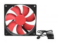 Xion AXP-GF120/_BL 120mm Case Fan w//4-Screws 8-pcs 3//4 pin LOT of
