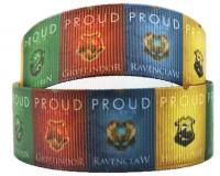 """USA Seller Harry Potter Ravenclaw 1/"""" Repeat Ribbon Sold By The Yard"""
