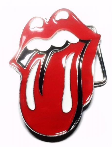 The Rolling Stones Tongue Logo Metal Enamel Belt Buckle Ebay