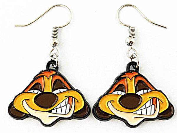Lion King Disney Gift Stud Earrings Gift Boxed Rafiki Face Cute