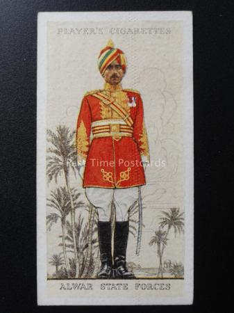 No 26 INDIA ALWAR S F Military Uniforms of the British