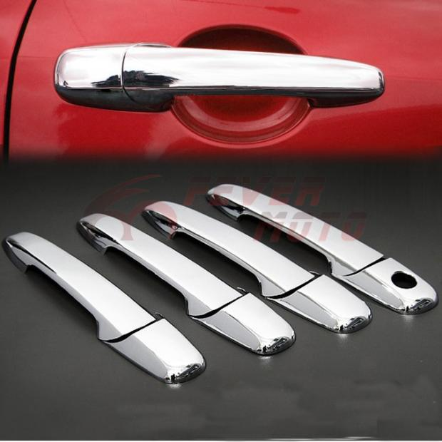 Triple Chrome Door Handle Cover for Mazda Ford Lincoln Mercury