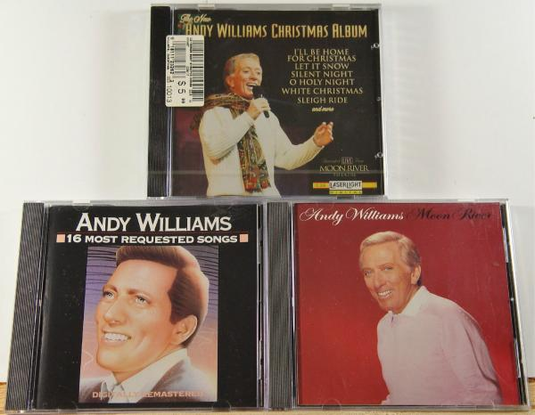 click here to enlarge - Andy Williams White Christmas