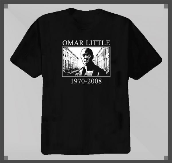 Omar Little The Wire TV Series T Shirt t-shirt tshirt tee | eBay