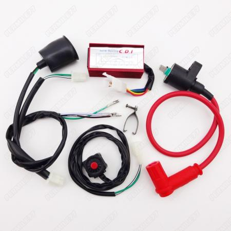 racing ignition coil cdi wiring loom kill switch 50 160cc ssr ycf pit dirt bike