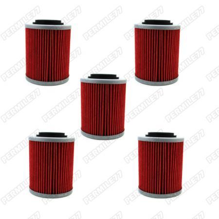 5x oil filter for can am outlander renegade 570 850 1000. Black Bedroom Furniture Sets. Home Design Ideas