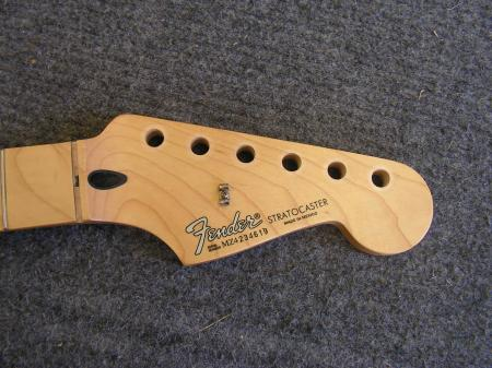 fender mexican stratocaster neck project used guitar parts. Black Bedroom Furniture Sets. Home Design Ideas