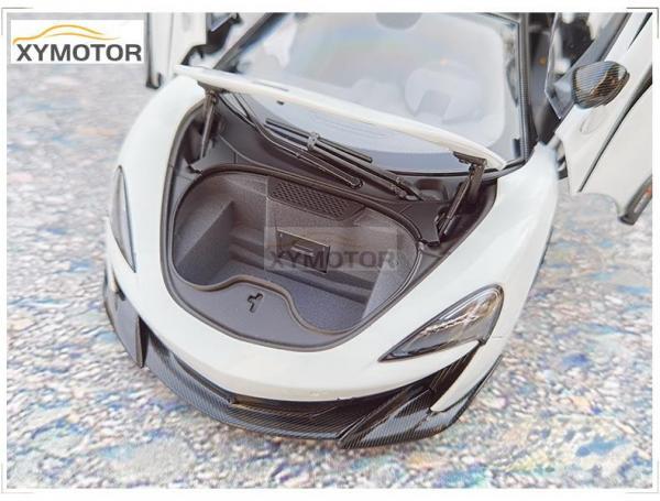 LCD Models 1//18 Mclaren 600LT Diecast CAR MODEL TOYS Girls Gift Collection White