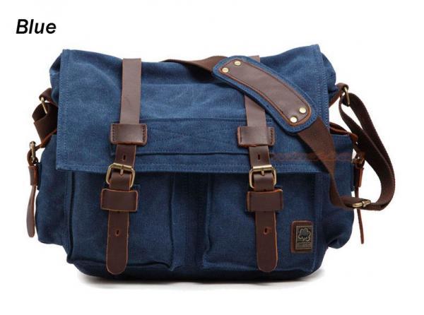 41bbab0fe I Am Legend M L XL School Bag Vintage Canvas Leather Travel Shoulder ...