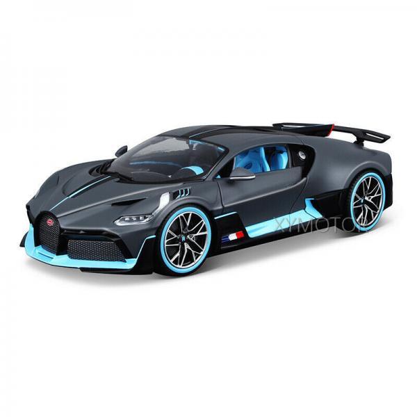 Bburago 1 18 Bugatti Chiron Diecast Metal Model Roadster: Bugatti Divo Bburago 1/18 Scale Diecast Model Car Roadster